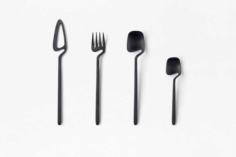 Skelton Cutlery by Nendo